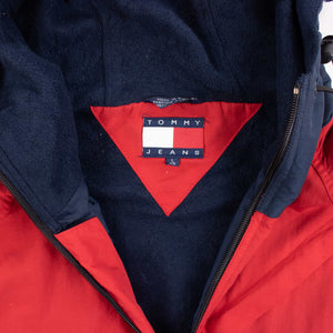 Vintage Tommy Hilfiger Hooded Down Jacket - American Madness