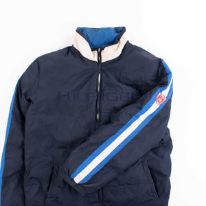 Vintage Tommy Hilfiger Ski Club Reversible Down Jacket - American Madness