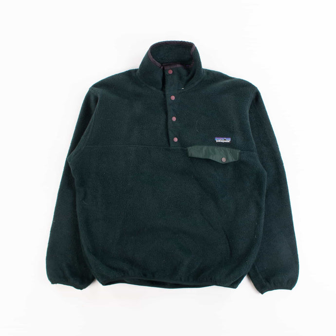 Vintage Patagonia  Snap-T Fleece- Forest Green - Made in USA