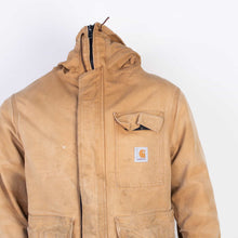 Vintage Carhartt Hooded Work Jacket - Hamilton Brown - American Madness