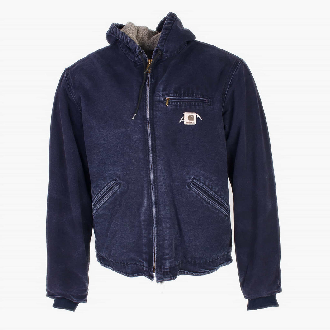 Vintage Carhartt Active Hooded Jacket - Navy - American Madness