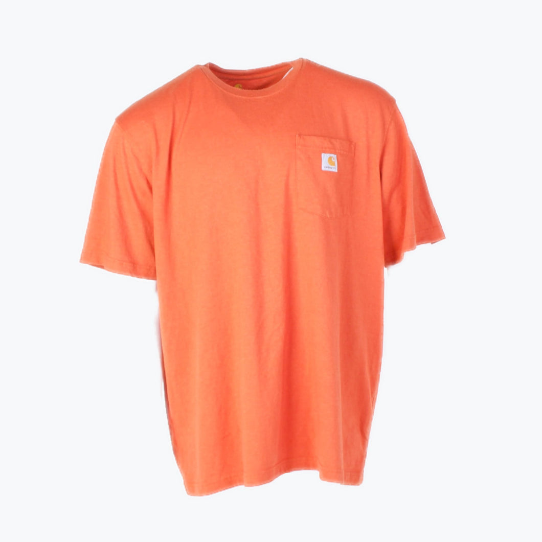 Vintage Carhartt Pocket T-Shirt - Orange - American Madness