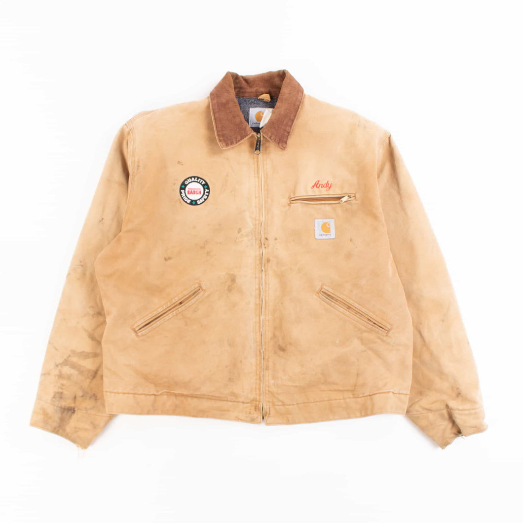 Vintage Carhartt Detroit Jacket - Hamilton Brown