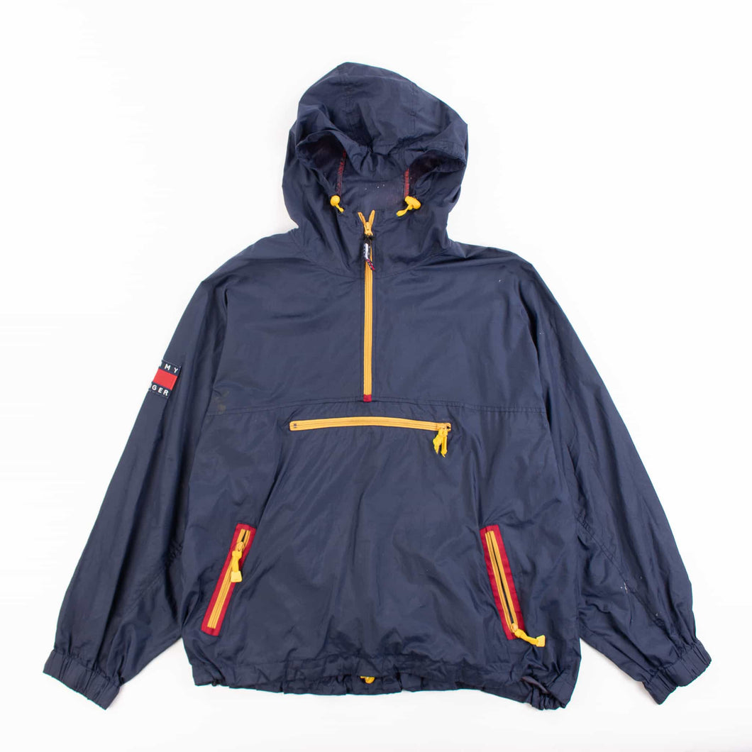 Vintage Tommy Hilfiger Hooded Shell Jacket - American Madness