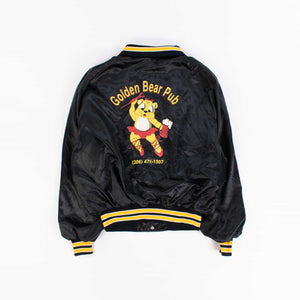 Vintage 'Golden Bear Pub' Baseball Jacket - American Madness