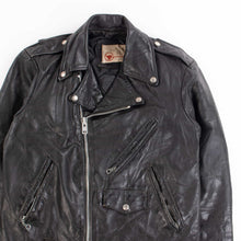 Vintage 80's 'The Leather Shop' Biker Jacket - American Madness