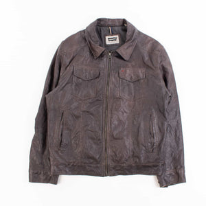 Vintage Levi's Biker Jacket- Dark Brown