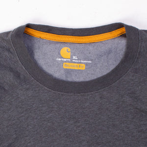 Vintage Carhartt Pocket T-Shirt - Grey - American Madness