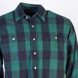 Vintage St. Johns Bay Flannel/ Overshirt - American Madness