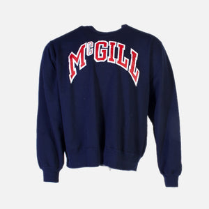 Vintage Champion 'McGill' Sweatshirt