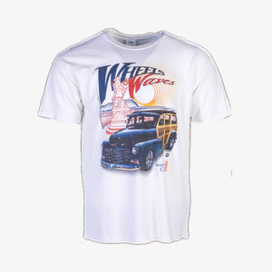Vintage 'Wheel Waves' NASCAR T-Shirt - American Madness