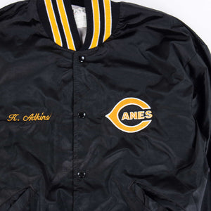 Vintage 'Canes' Baseball Jacket - American Madness