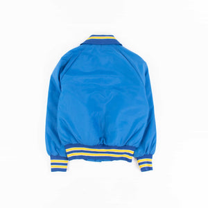 Vintage Satin Baseball Jacket