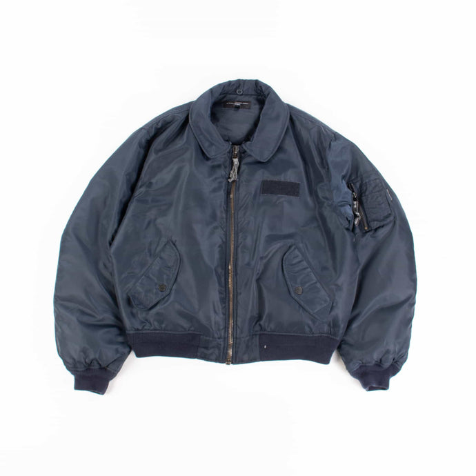Vintage French Connection MA-1 Bomber Jacket - Navy