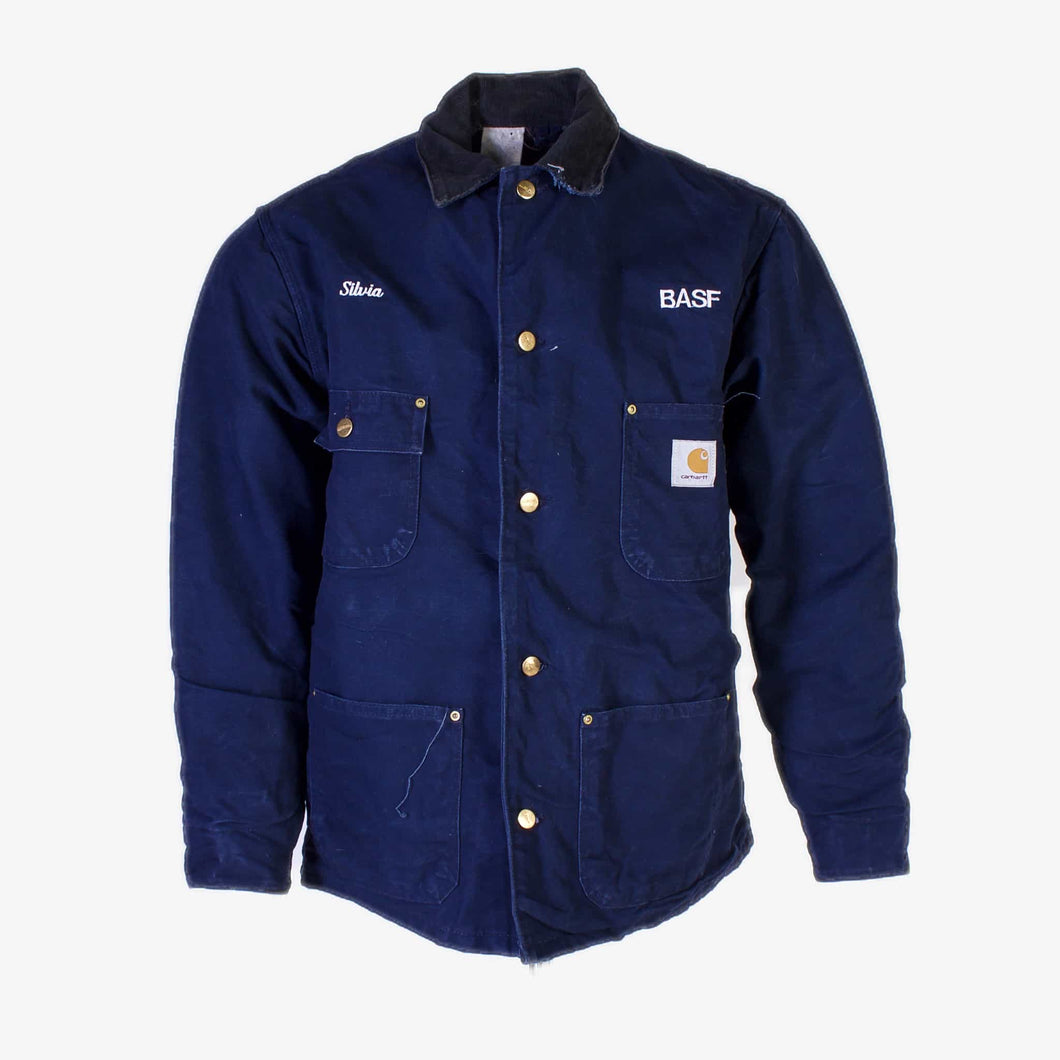 Vintage Carhartt Traditional Chore Jacket- Navy - American Madness