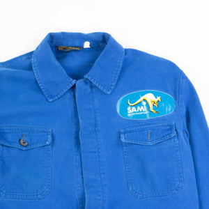 Vintage 1970's Blue French Chore Jacket - American Madness