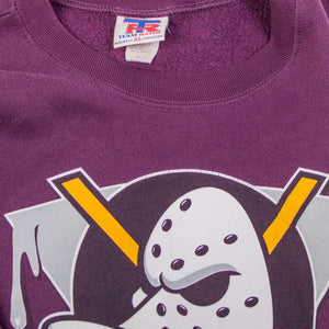 Vintage 'Daffy Duck Ice Hockey' Looney Tunes Sweatshirt - American Madness