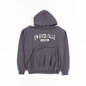 Vintage Champion 'UW-River Falls' Hooded Sweatshirt