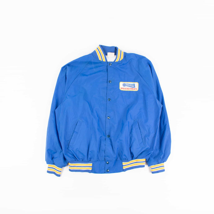 Vintage 'Breaded Meats' Baseball Jacket - American Madness