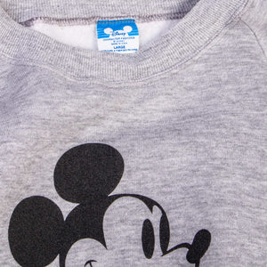 Vintage 'Mickey Mouse' Graphic Sweatshirt - American Madness