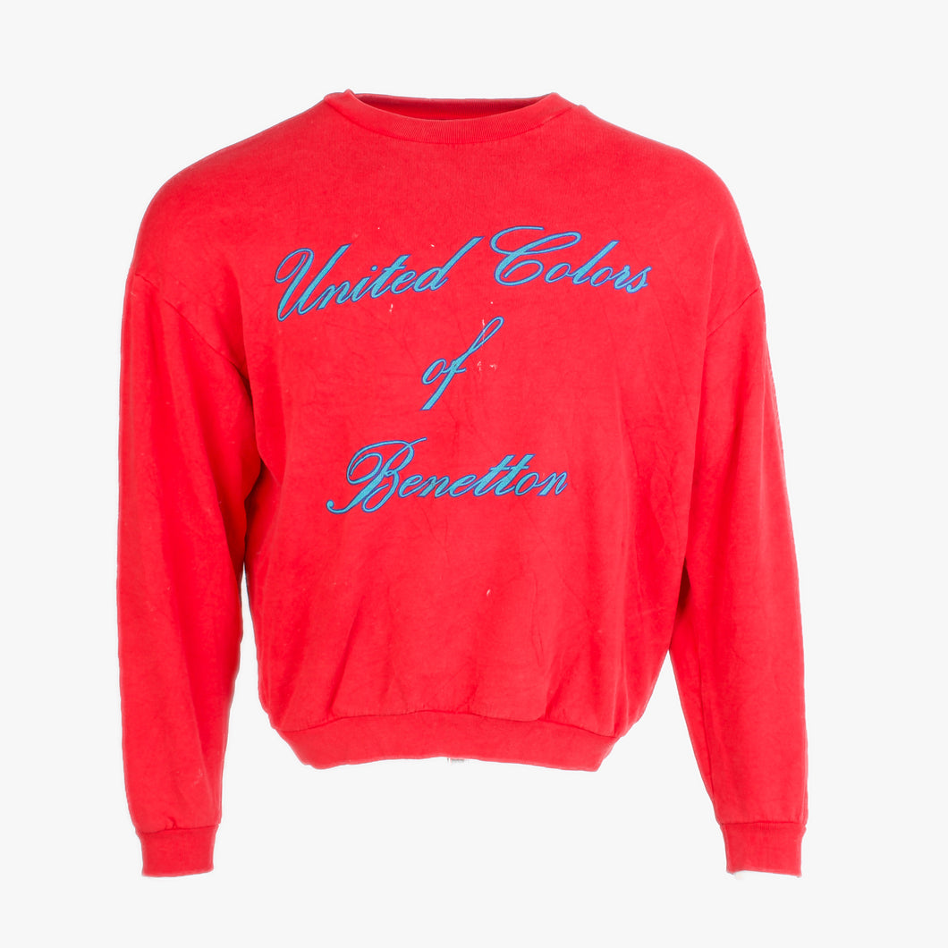 Vintage United Colors Of Benneton Sweatshirt - American Madness