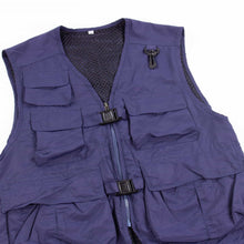 Vintage Tactical Fishing Vest - Navy - American Madness