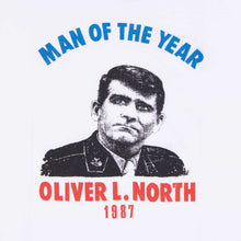 Vintage 80's Screen Star 'Oliver North Man of the Year' T-Shirt - American Madness