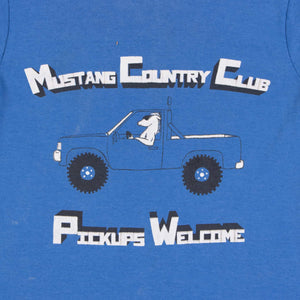 Vintage 80's Screen Star 'Mustang Country Club' T-Shirt - American Madness