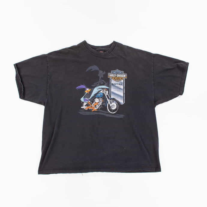 Vintage 90's Harley Davidson 'Looney Tunes' T-Shirt - American Madness