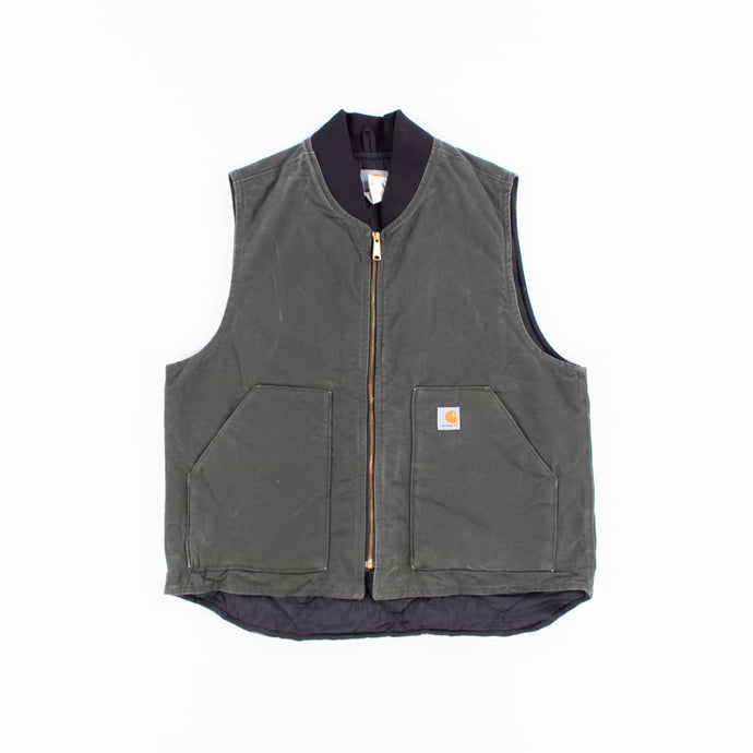 Vintage Carhartt Insulated Vest - Green