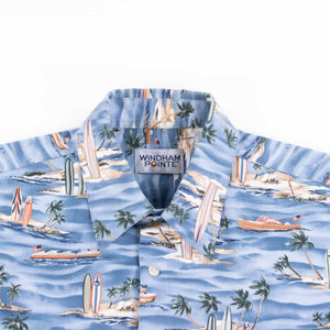 Vintage 'Windham Pointe' Hawaiian Shirt - American Madness