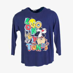 Vintage ' Looney Tunes ' Long Sleeve T-Shirt - American Madness