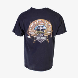 90s Harley Davidson 'Eagle's Nest' T-Shirt - American Madness