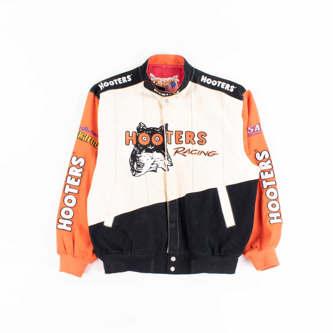 Vintage 'Hooters' NASCAR Racing Jacket - American Madness