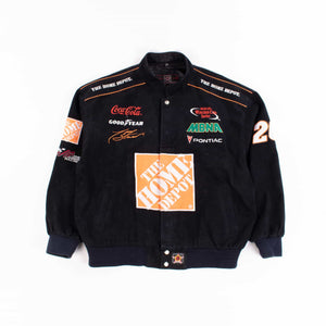 Vintage 'Home Depot' NASCAR Racing Jacket - American Madness