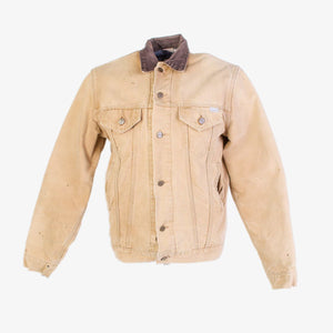 Vintage Carhartt Sherpa Lined Trucker Jacket - Hamilton Brown