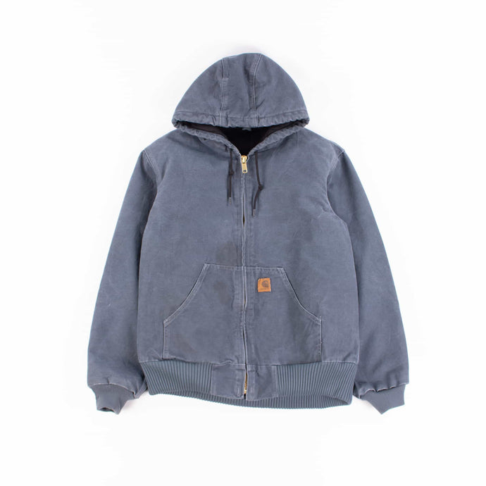 Vintage Carhartt Active Hooded Jacket - Teal