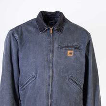 Vintage Carhartt 'Detroit' Jacket- Washed Black