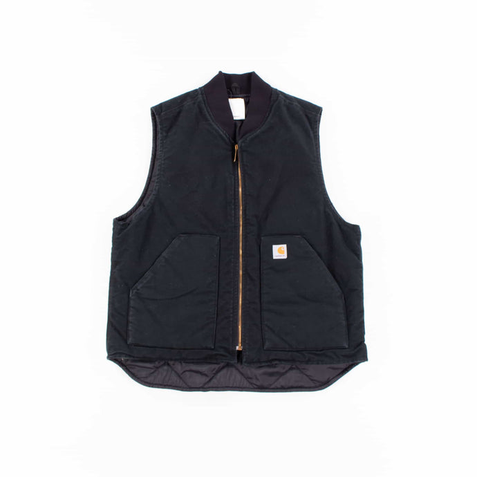 Vintage Carhartt Insulated Vest - Black