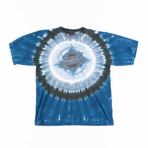 Vintage 90's Harley Davidson Tie-Dye T-Shirt - American Madness