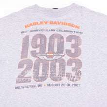 Vintage 90's Harley Davidson '100th Anniversary' T-Shirt - American Madness
