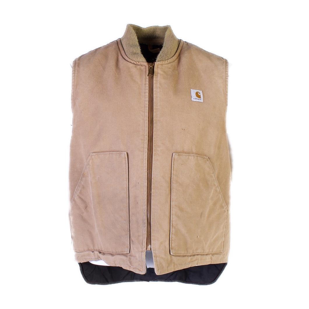 Vintage Carhartt Insulated Vest - Sandstone - American Madness