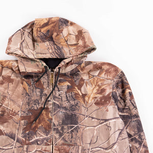 Vintage Carhartt Active Hooded Jacket - Real Tree Camo