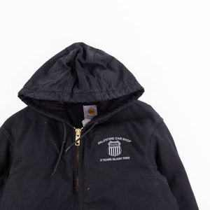 Vintage Carhartt Active Hooded Jacket - Black