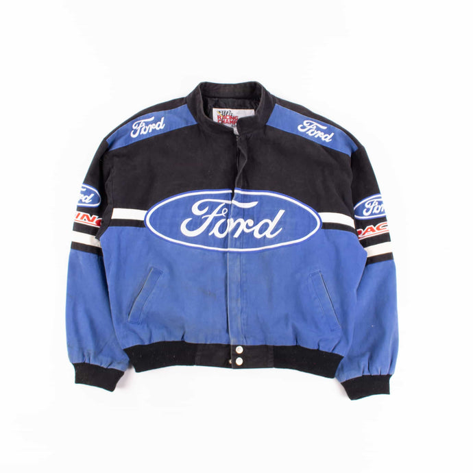 Vintage 'Ford' NASCAR Racing Jacket - American Madness