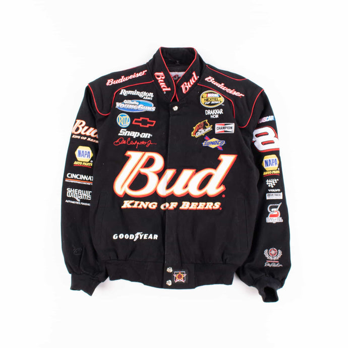 Vintage 'Budweiser' NASCAR Racing Jacket - American Madness