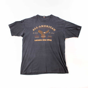 Vintage 90's Harley Davidson American Eagle T-Shirt - American Madness