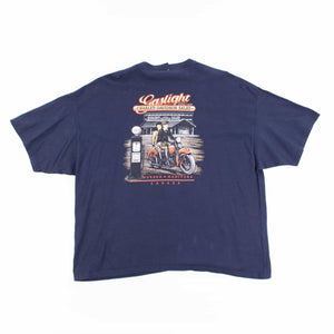 Vintage 90's Harley Davidson Gaslight Canada T-Shirt - American Madness