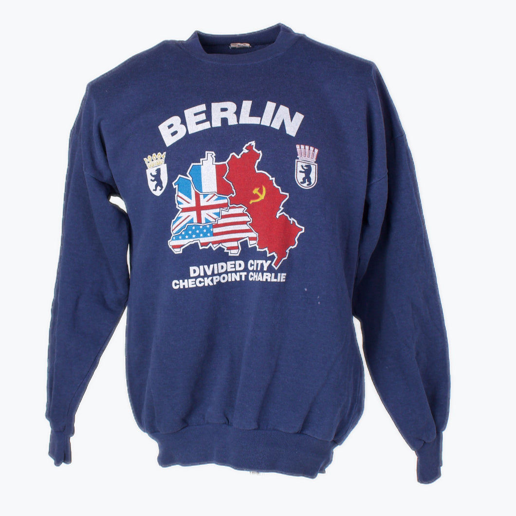 Vintage 'Checkpoint Charlie' Sweatshirt - American Madness