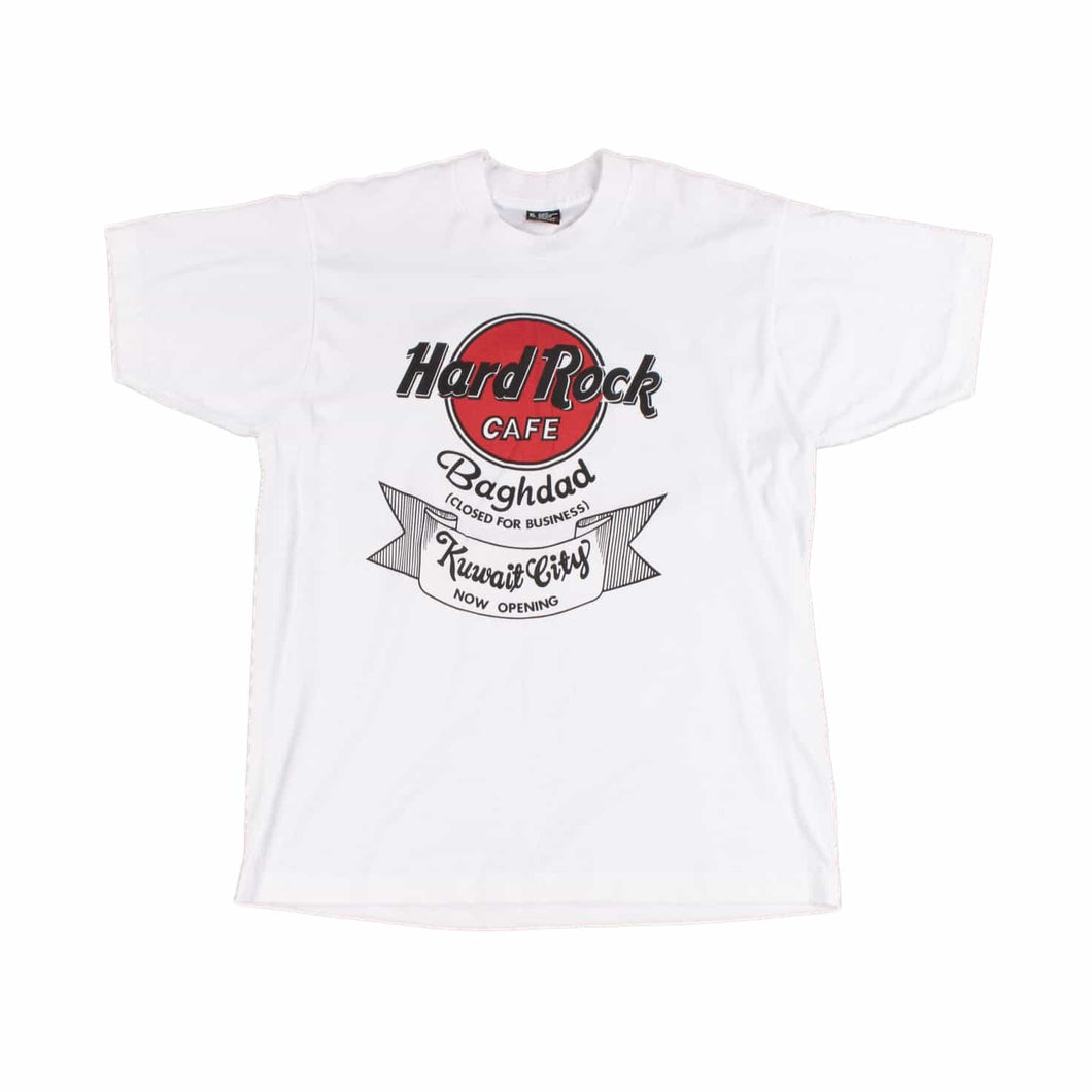 Vintage 90's Screen Star 'Hard Rock Cafe Baghdad' T-Shirt